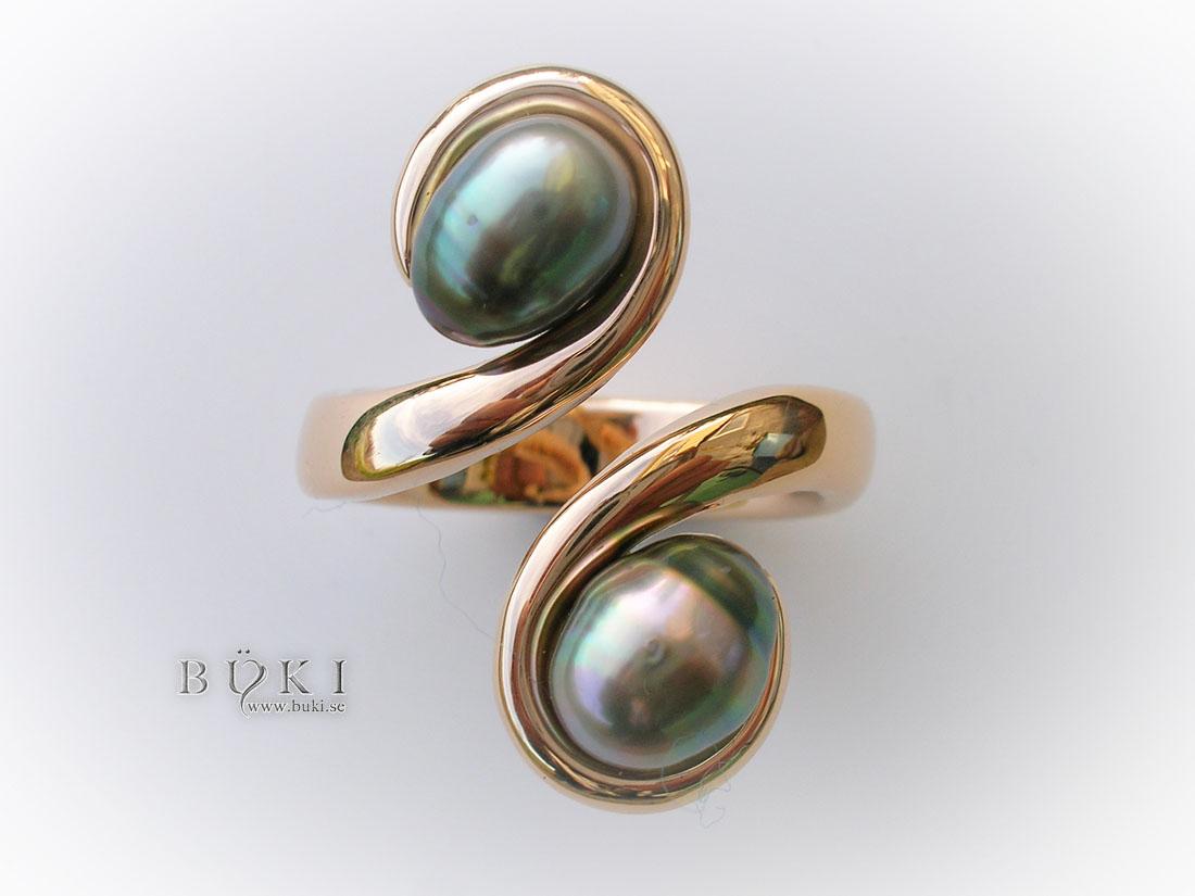 omlottring-med-pärlor-18k