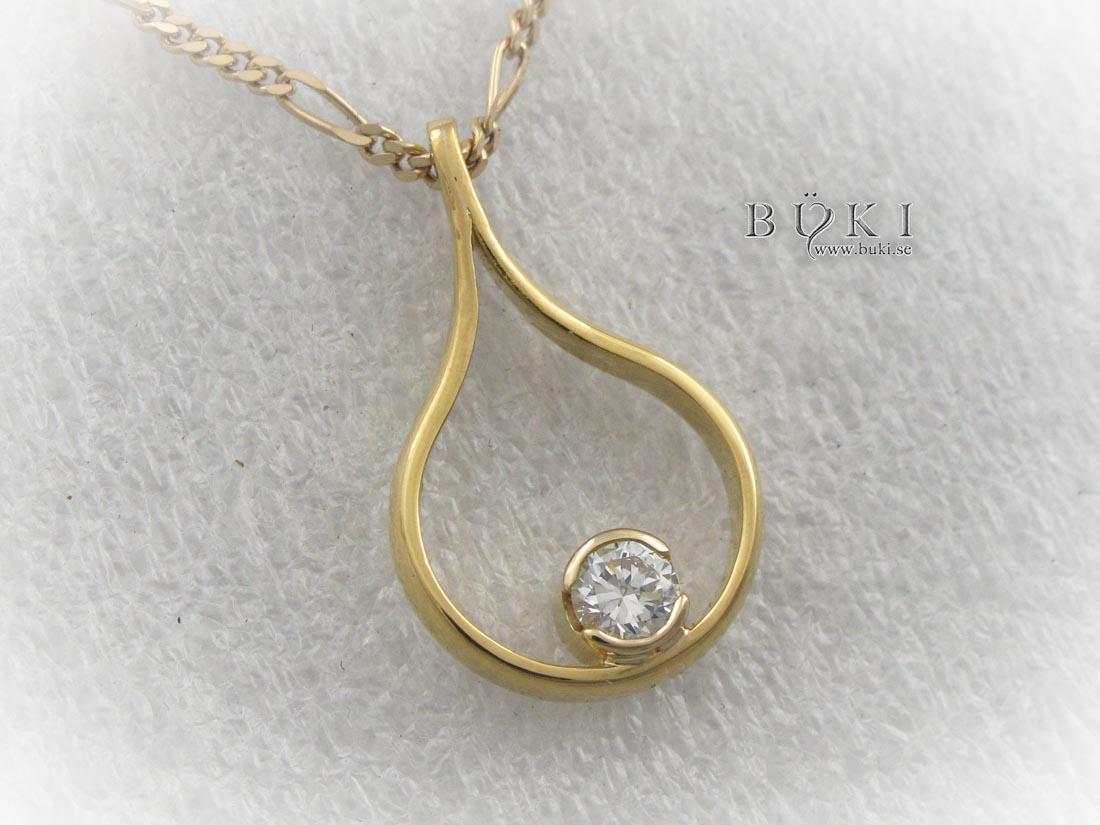 hängsmycke-i-18k-guld-med-sten-omarbete-från-slät-ring