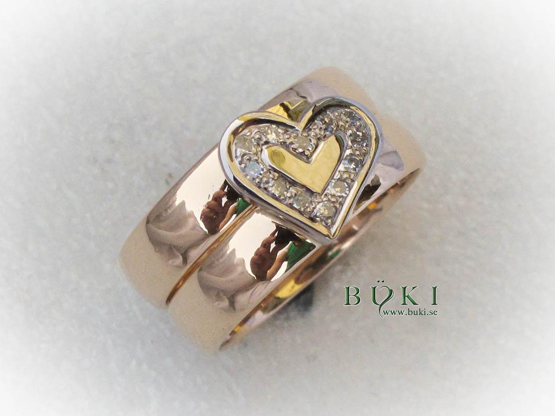 dubbelring-18k-röd-och-vitguld-med-hjärta-och-diamante