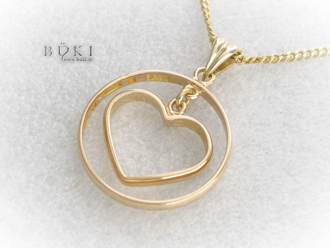 hängsmycke-18k-guld-omarbetning-hjärta-från-2-släta-ringa